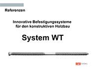 WT Refer - Drvene konstrukcije